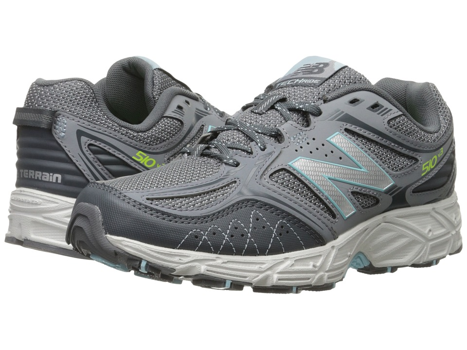 New Balance - WT510V3 - USA (Grey/Fresh Water) Women's Running Shoes