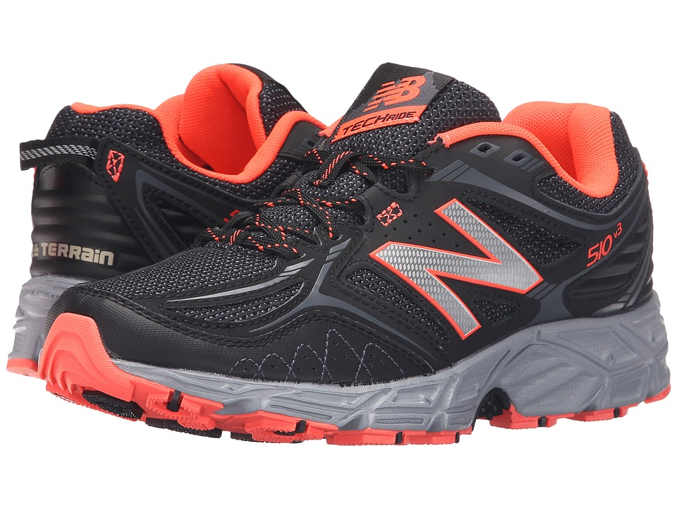 New Balance - WT510V3 - USA (Black/Dragonfly) Women's Running Shoes