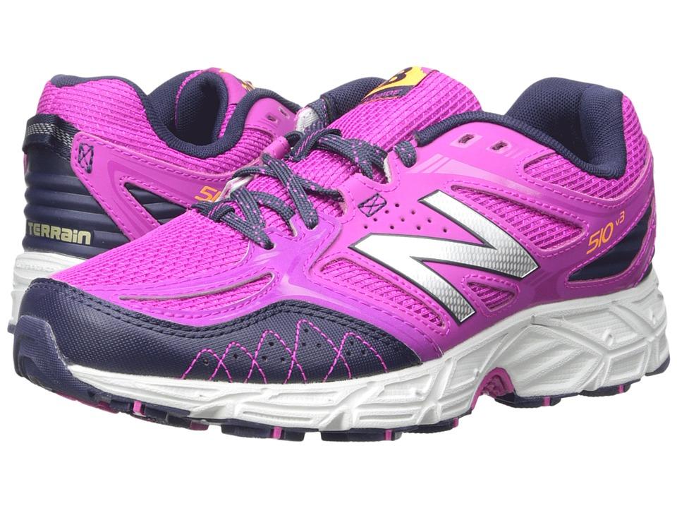 New Balance - WT510V3 - USA (Azalea/Abyss Silver) Women's Running Shoes