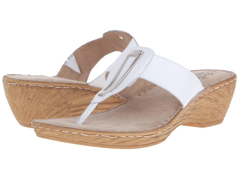 Bella-Vita - Sulmona (White) Women's Sandals