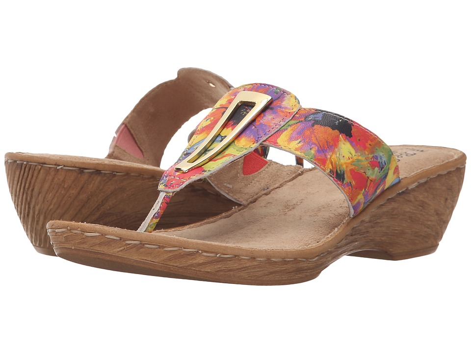 Bella-Vita - Sulmona (Bright Floral) Women's Sandals