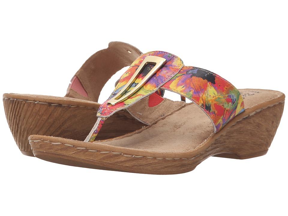 Bella-Vita - Sulmona (Bright Floral) Women's Sandals