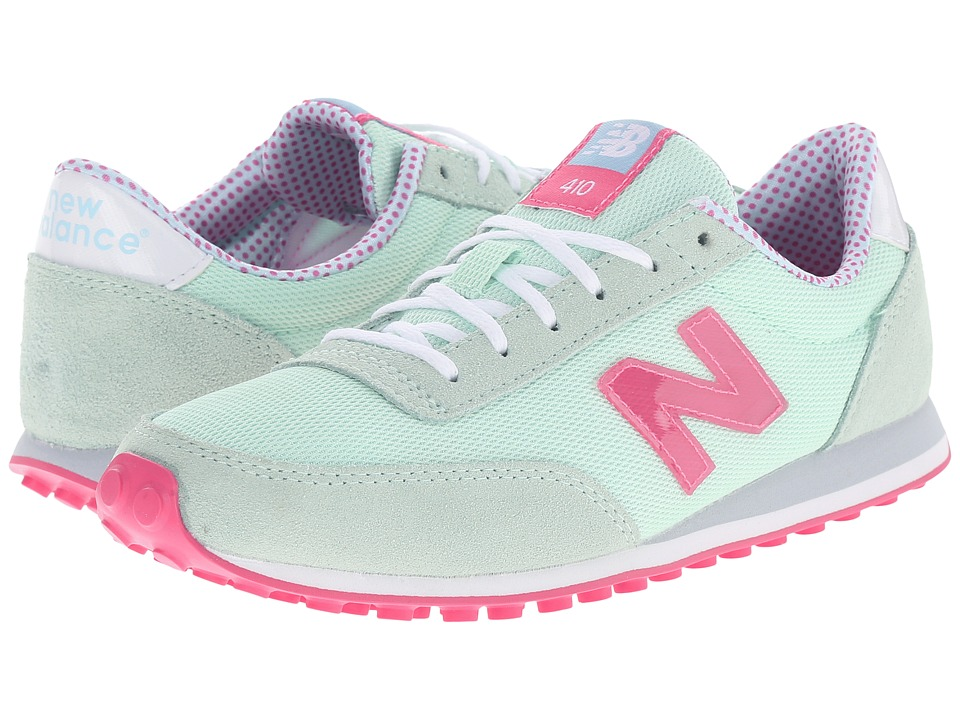 New Balance Classics - WL410v1 (Seafoam/Flamingo) Women's Running Shoes