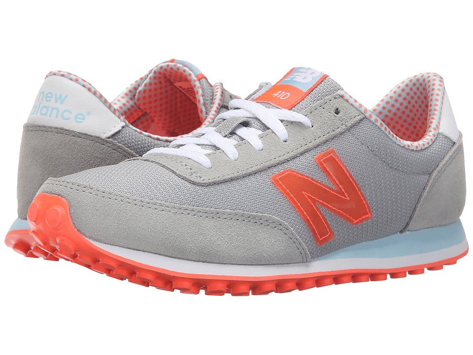 New Balance Classics - WL410v1 (Silver Mink/Dragonfly) Women's Running Shoes