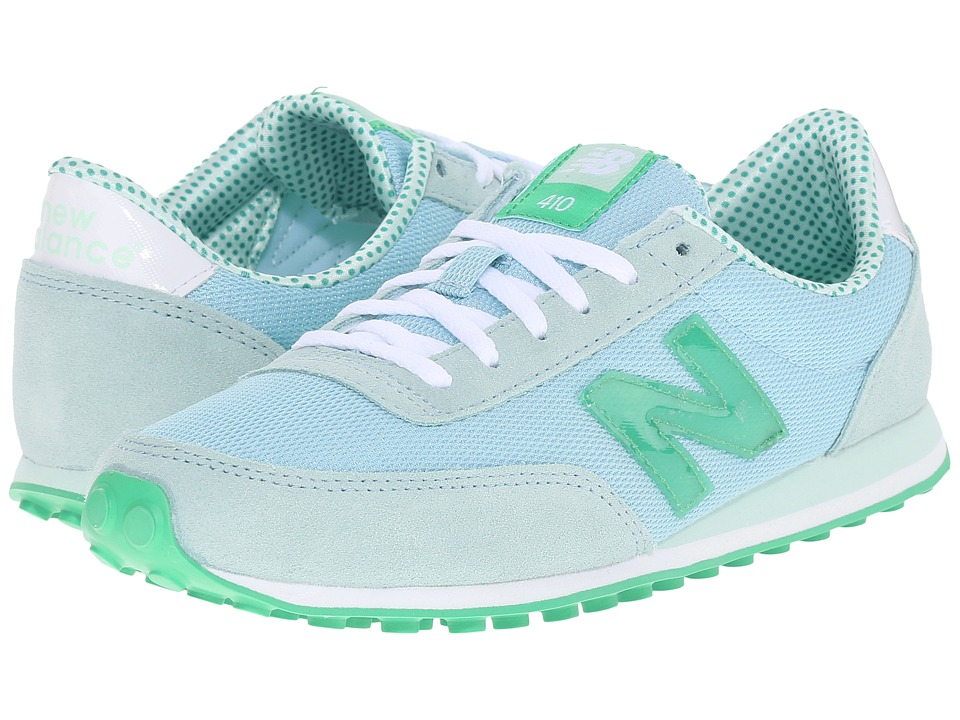 New Balance Classics - WL410v1 (Freshwater/Spring Green) Women's Running Shoes