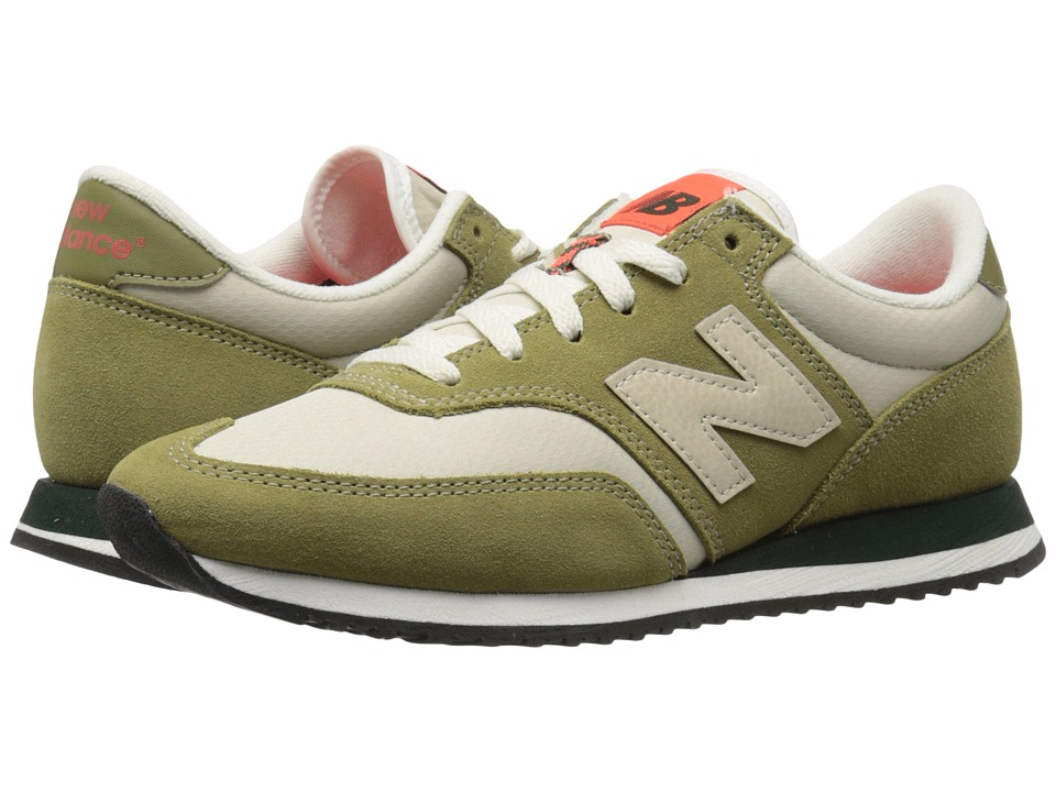 New Balance Classics CW620v1 (Green Olive/Beach Sand) Women