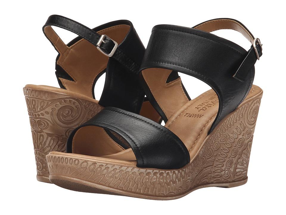 Bella-Vita - Nicola (Black) Women's Wedge Shoes