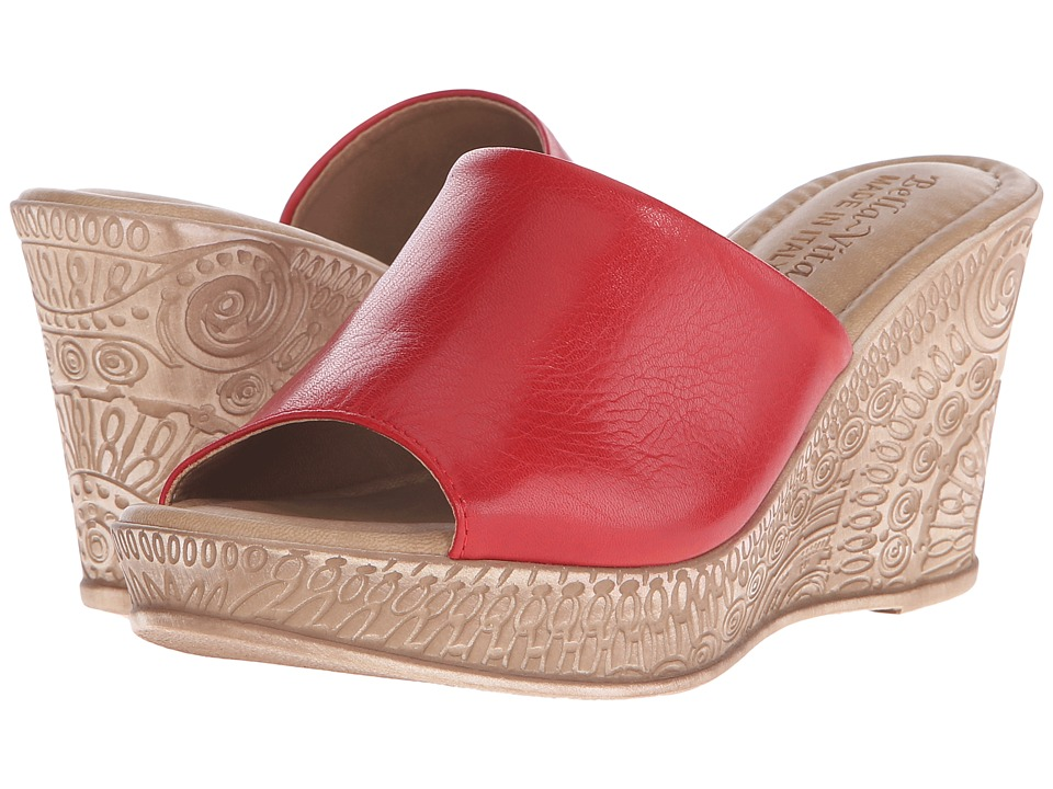 Bella-Vita - Mileto (Red) Women's Sandals