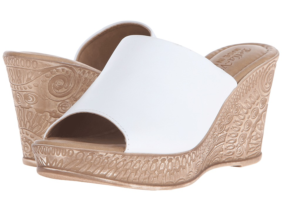 Bella-Vita - Mileto (White) Women's Sandals