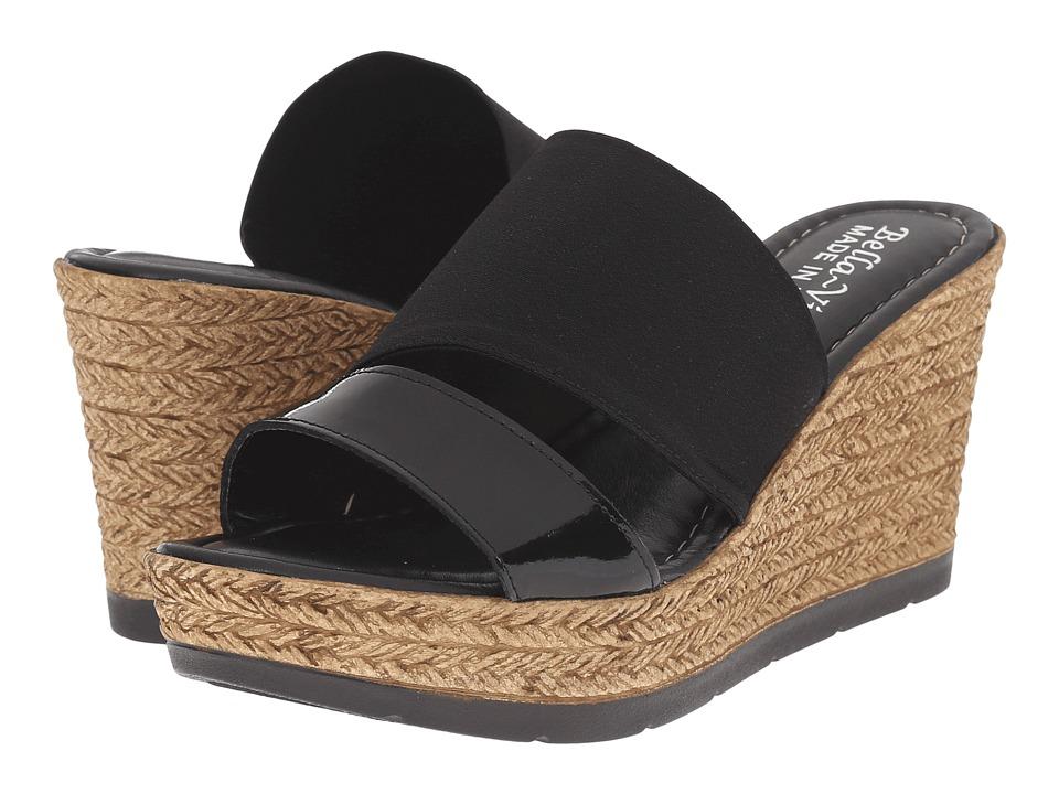 Bella-Vita - Formia (Black) Women's Sandals