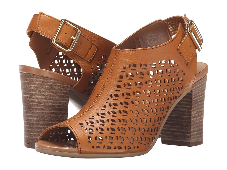 Bella-Vita - Trento (Tan) Women's 1-2 inch heel Shoes