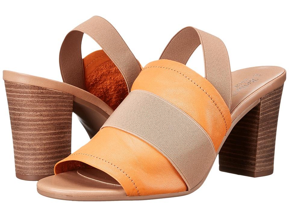 Bella-Vita - Sassari (Tangerine/Tan Gore) Women's 1-2 inch heel Shoes