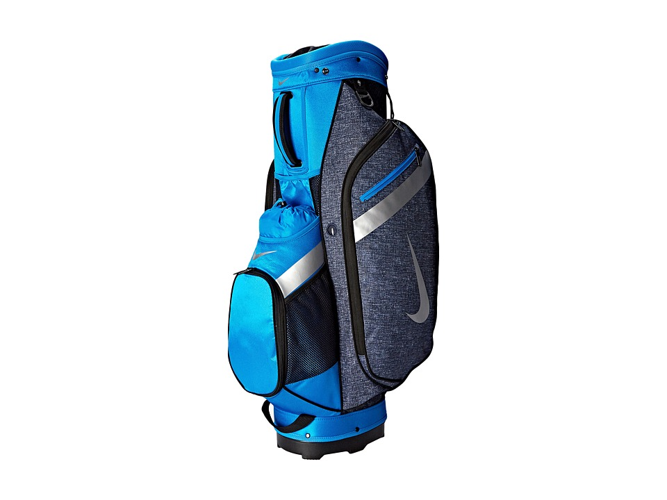 Nike Golf - Sport Cart IV (Dark Obsidian/Silver/Photo Blue) Athletic Sports Equipment