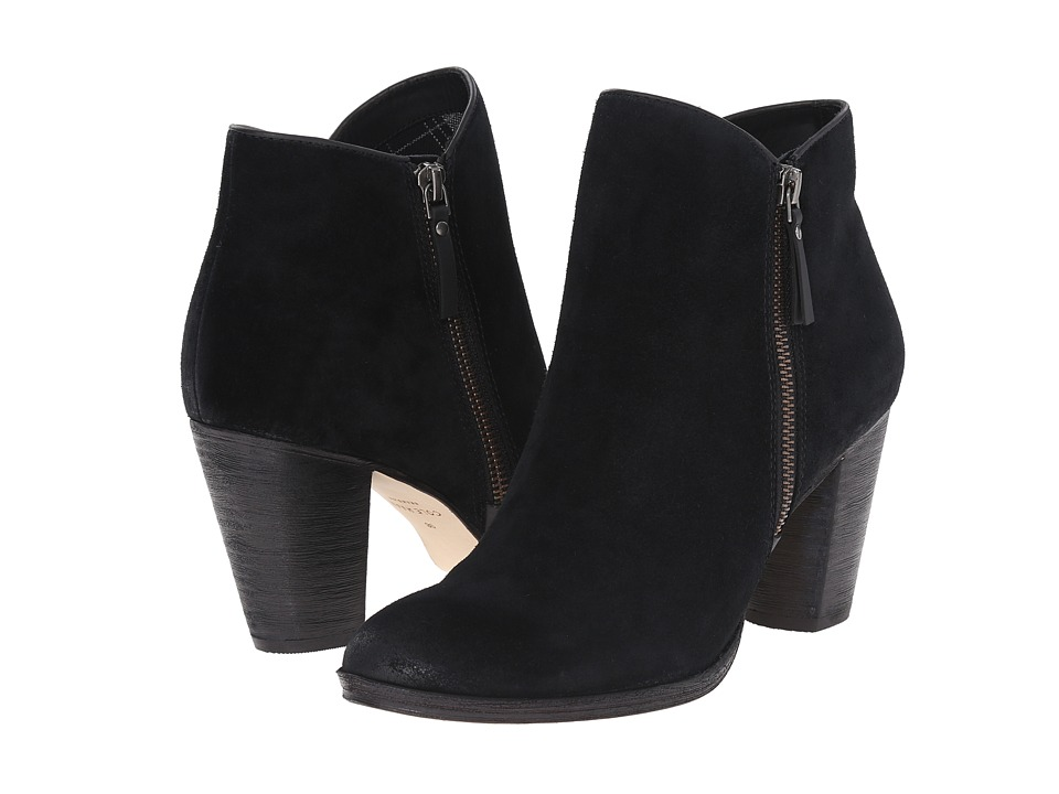 Cole Haan - Hayes Bootie (Black Suede) Women's Shoes