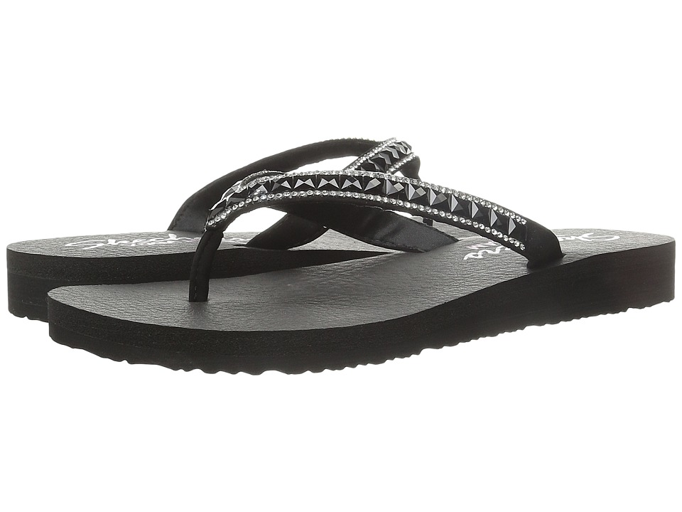 SKECHERS - Cali - Meditation - Lotus Bloom (Black) Women's Sandals