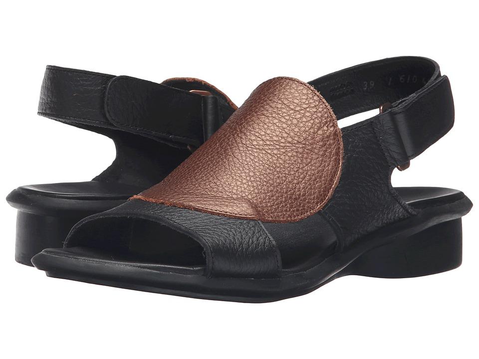 Arche - Saoko (Noir/Cuivre) Women's Shoes