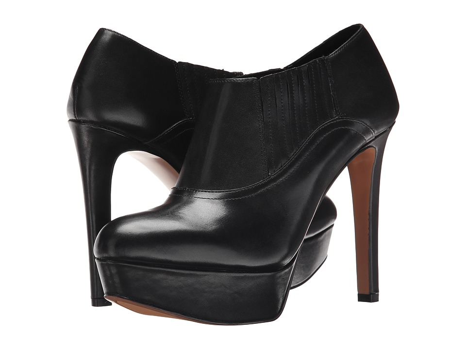 Nine West - Disclosure (Black Leather) High Heels