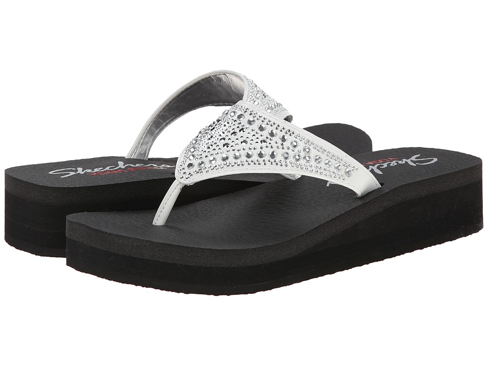SKECHERS - Cali - Vinyasa - Bindu (White) Women's Sandals