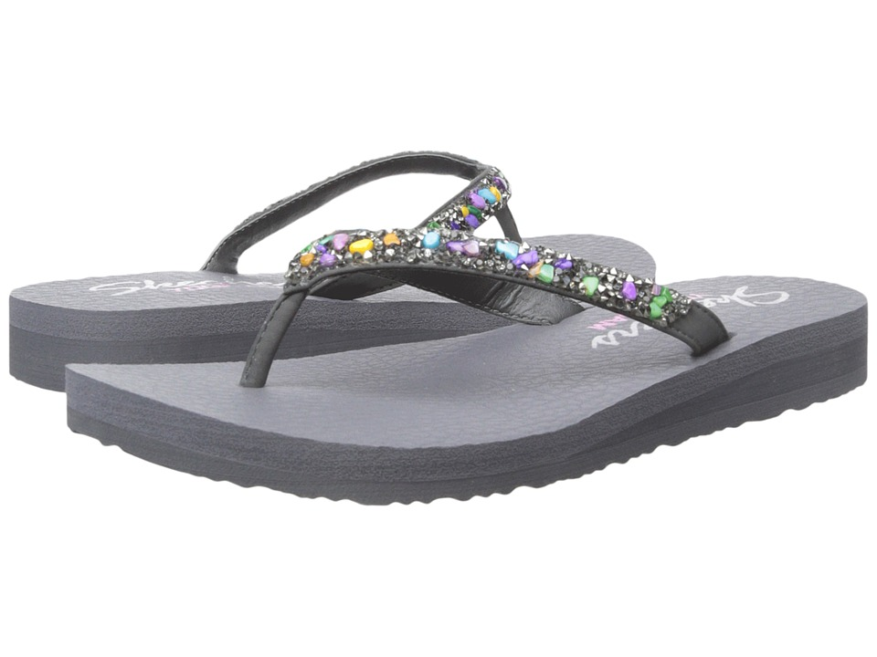SKECHERS - Cali - Meditation - Break Water (Gray/Multi) Women's Sandals