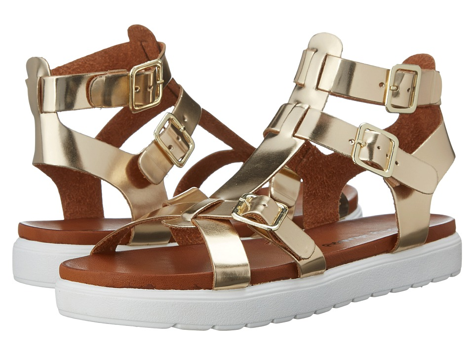 Dirty Laundry - Panda (Gold) Women's Sandals
