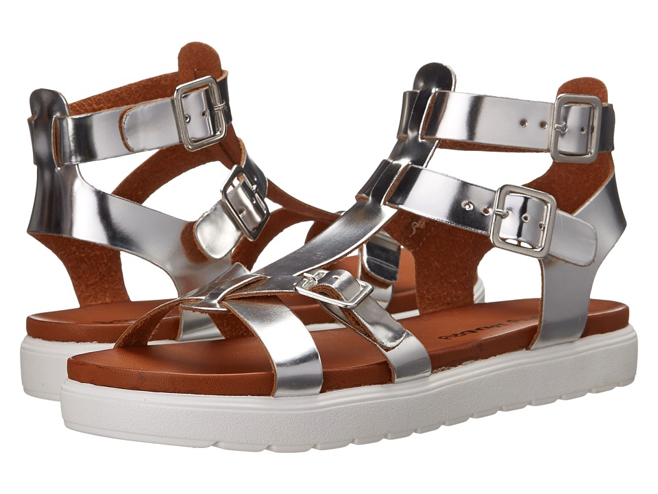 Dirty Laundry - Panda (Silver) Women's Sandals