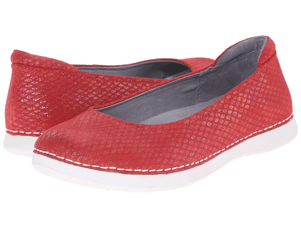 Alegria - Petal (Cherry) Women's Flat Shoes