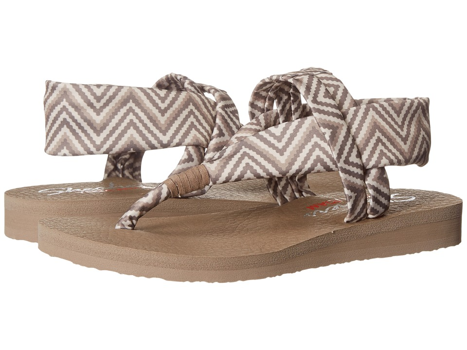 SKECHERS - Cali - Meditation - Clique (Taupe) Women's Sandals