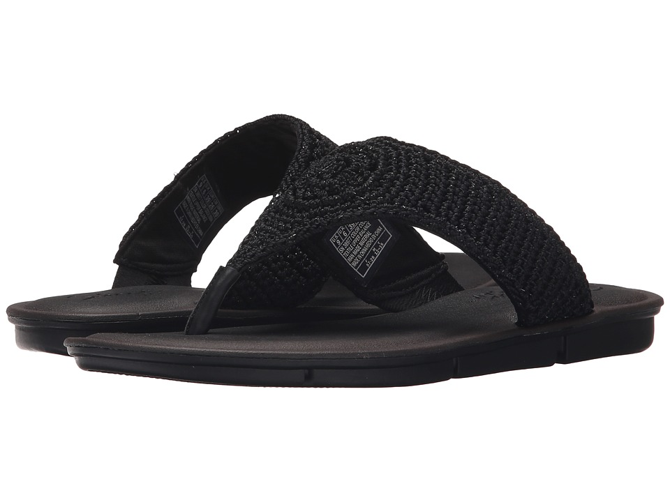 SKECHERS - Cali - Indulge 2 - Beach Angel (Black/Black) Women's Sandals