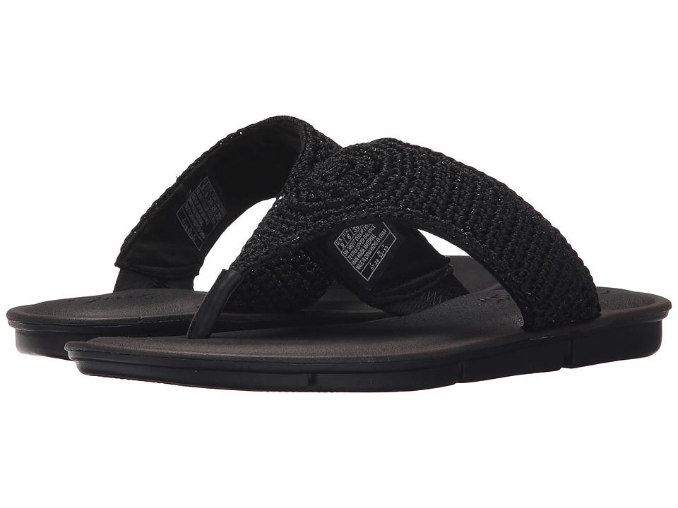 SKECHERS - Cali - Indulge 2 - Beach Angel (Black/Black) Women's Sandals