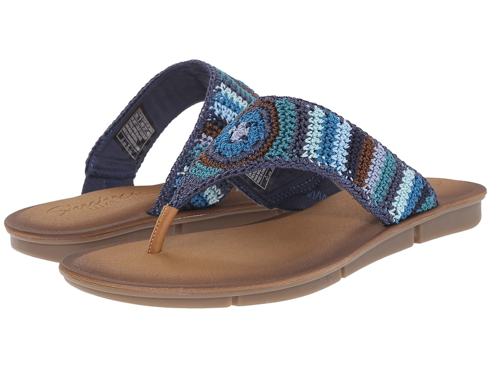 SKECHERS - Cali - Indulge 2 - Beach Angel (Blue/Multi) Women's Sandals