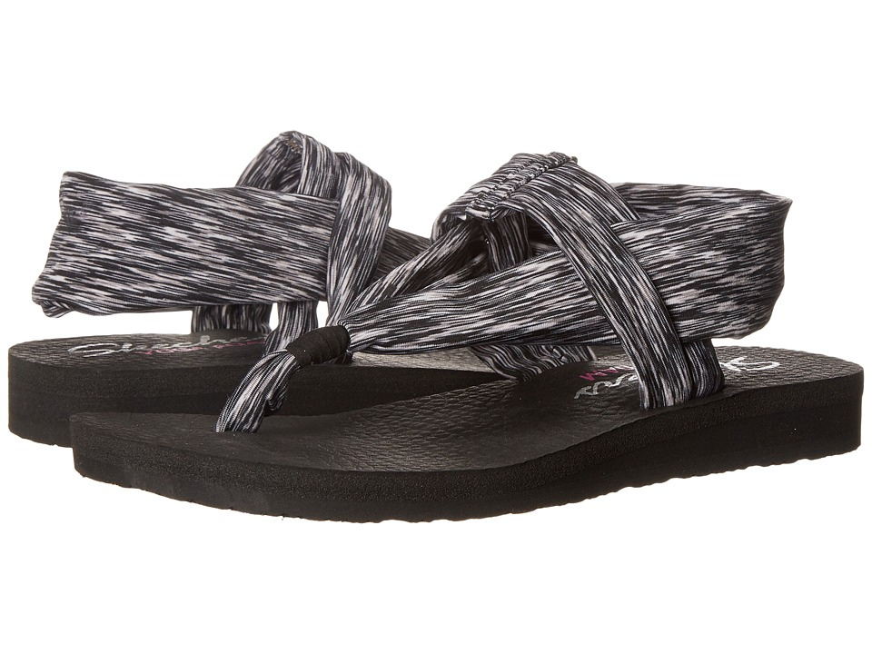 SKECHERS - Cali - Meditation - Serene (Black) Women's Sandals