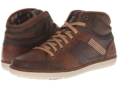 SKECHERS - Define - Trevino (Chocolate) Men's Shoes