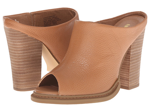 Nine West - LuckyOne (Cognac Leather) High Heels