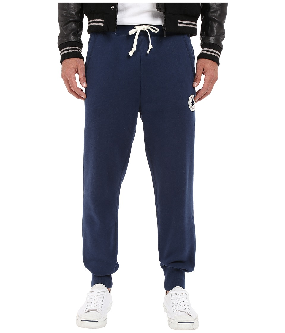 Converse - Core Rib Cuff Pants (Nightime Navy) Men's Casual Pants