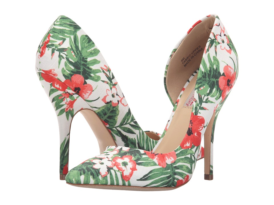 DOLCE by Mojo Moxy - Tanya (White Floral) High Heels