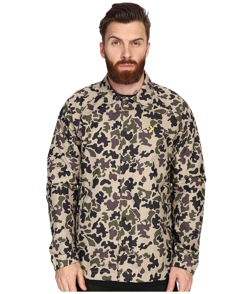 Converse - Cons Coaches Jacket (Sandy Camo) Men's Coat