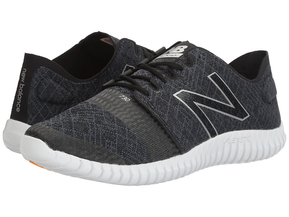 New Balance - M730v3 (Black/Impulse) Men's Running Shoes