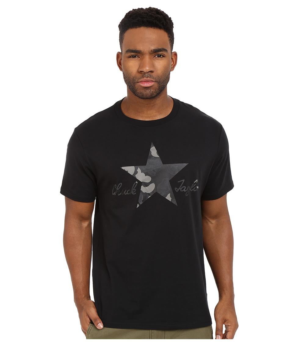Converse - CTASII Reflective Camo Tee (Black) Men's T Shirt