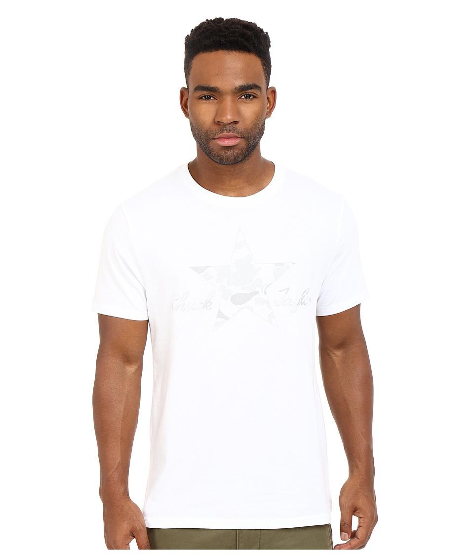 Converse - CTASII Reflective Camo Tee (White) Men's T Shirt