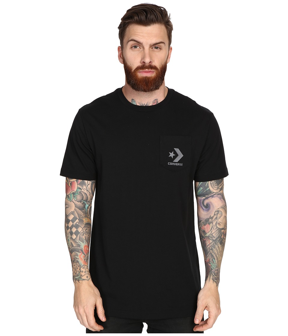 Converse - Cons Pocket Tee (Black) Men's Short Sleeve Pullover