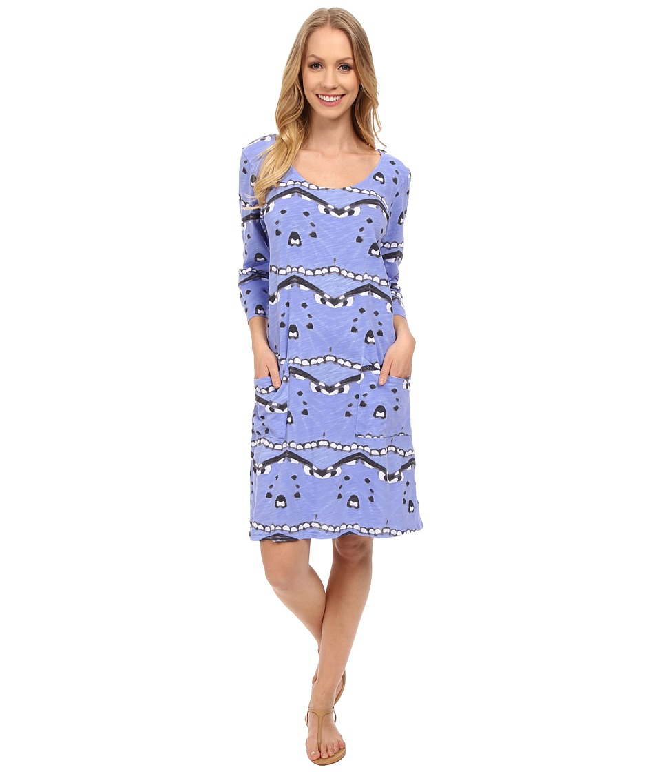 Fresh Produce - Flutter Dalia Dress (Peri Blue) Women's Dress