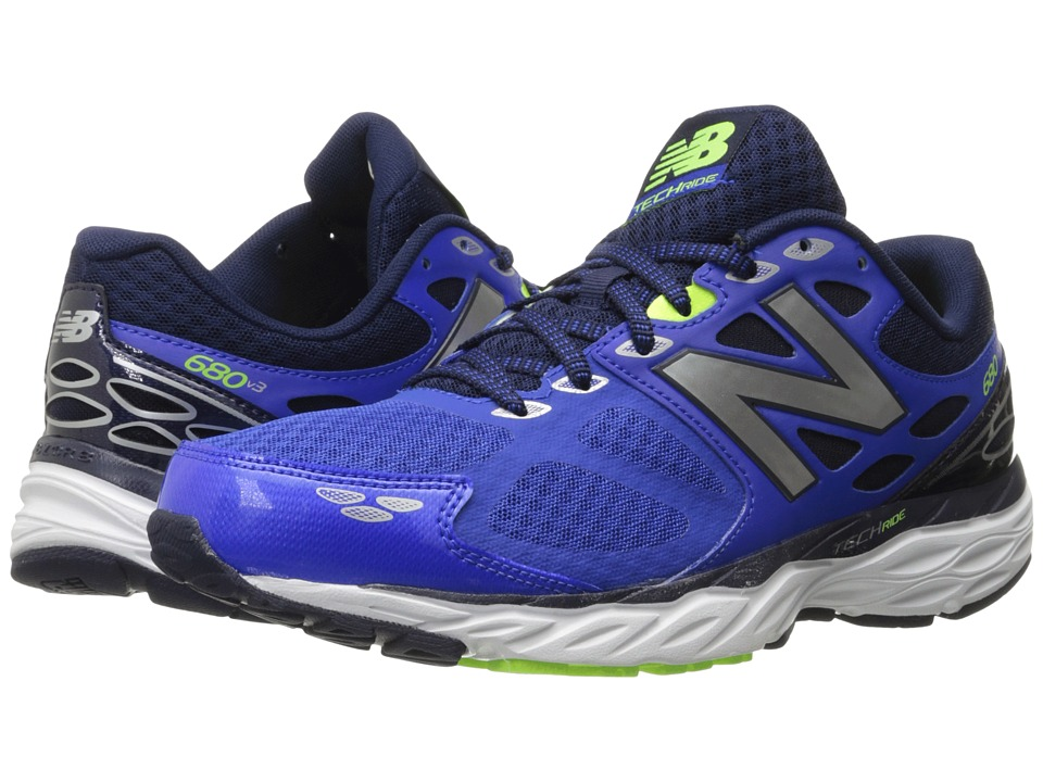 New Balance - M680v3 (Pacific/Toxic) Men's Running Shoes