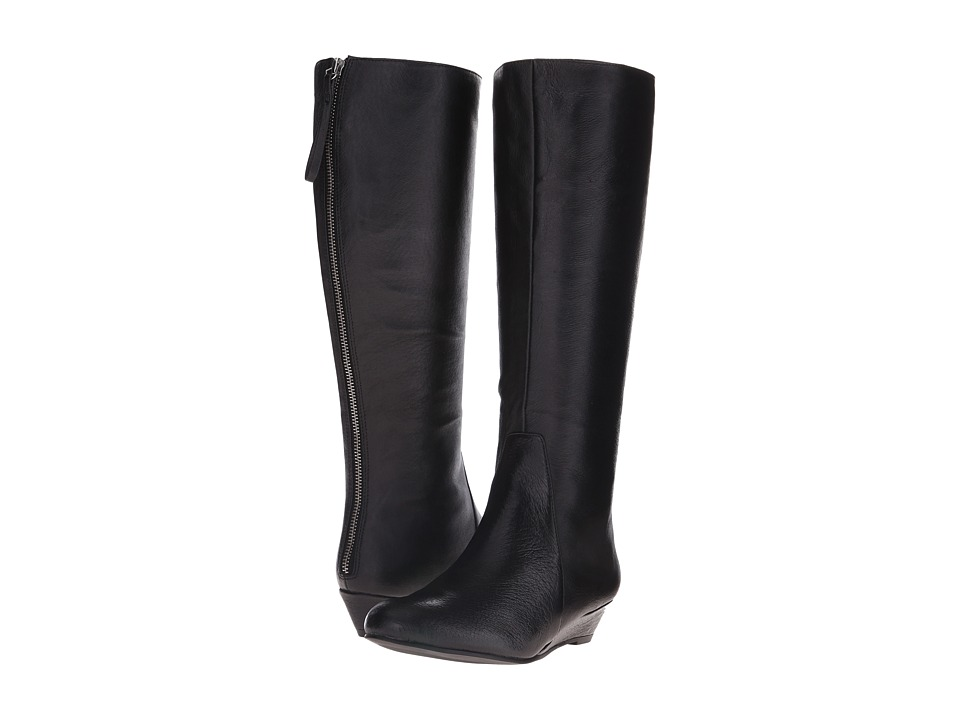 Nine West - Harper (Black Leather) Women's Boots