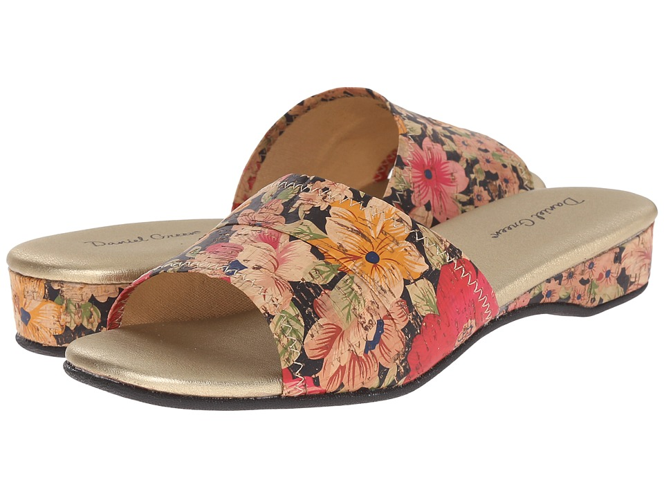 Daniel Green - Dormie (Floral Cork) Women's Slippers