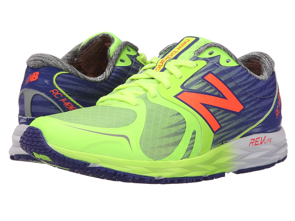 New Balance - W1400v4 (Yellow/Purple) Women's Running Shoes