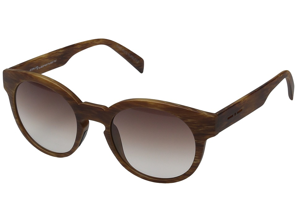 Italia Independent - 909 (Brush Brown) Fashion Sunglasses