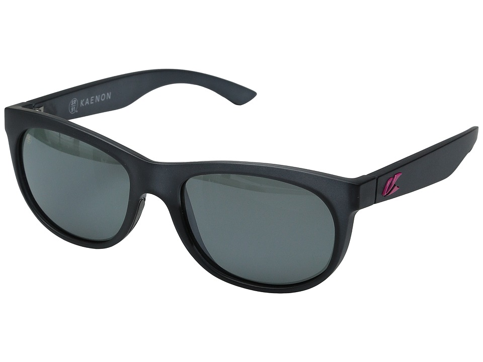 Kaenon - Stinson (Graphite/Hot Pink G12M) Fashion Sunglasses