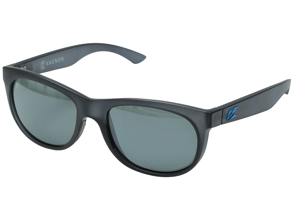 Kaenon - Stinson (Graphite/Bright Blue G12M) Fashion Sunglasses