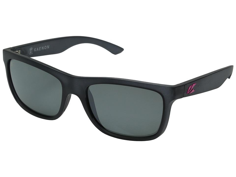 Kaenon - Clarke (Graphite/Hot Pink G12M) Sport Sunglasses