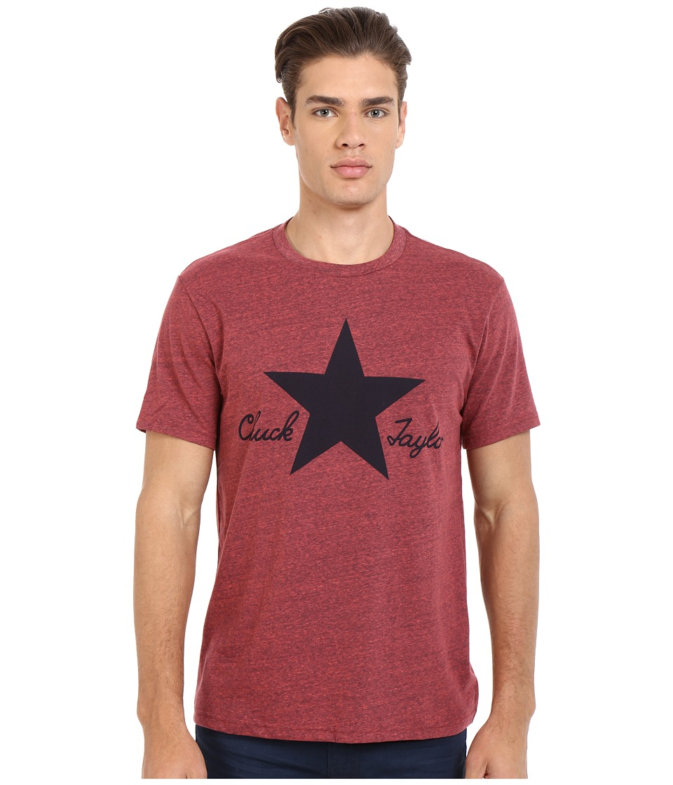 Converse - CTASII Heathered Tee (Resin Red) Men's T Shirt